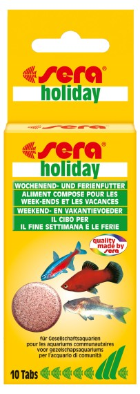 sera holiday 10 Tabs